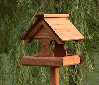 Rustic Bird Table