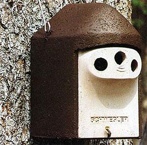 Schwegler 3-Hole Bird Nest Box