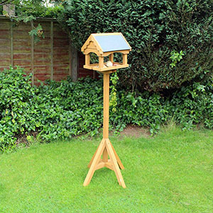 Slate Roof Bird Table