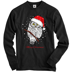 Fancy A Snuggle Owl Christmas Jumper