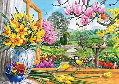 Springtime Splendour Jigsaw Puzzle