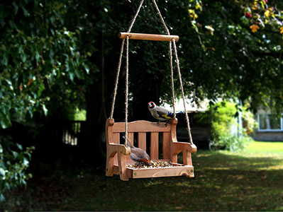 Swing Seat Hanging Bird Table