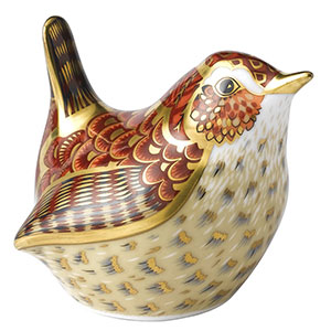 Royal Crown Derby Jenny Wren Paperweight