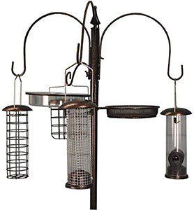 Selections Metal Complete Bird Feeding Station