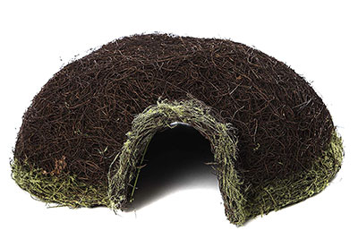 Natural Thatch Hedgehog House