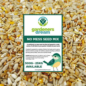 Gardeners Dream No Mess Bird Seed