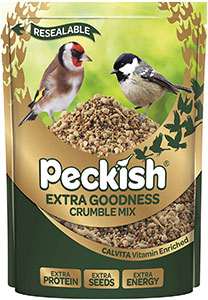 Peckish Extra Goodness Crumble Mix
