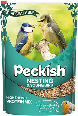 Peckish Nesting And Young Bird Seed Mix