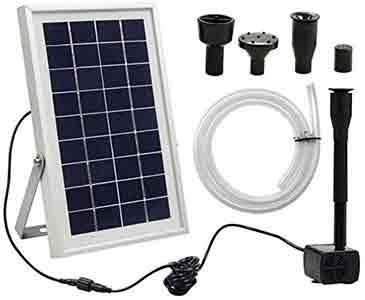 Bird Bath Solar Pump