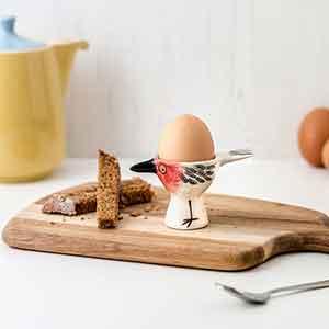 Handmade Ceramic Robin Egg Cup