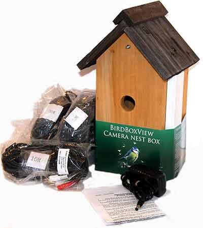 Bird Camera Nest Box