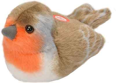 RSPB Robin Singing Soft Toy