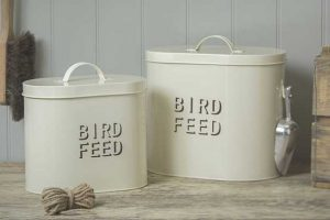 Bird Food Storage