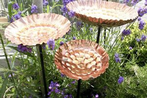 Copper Bird Baths