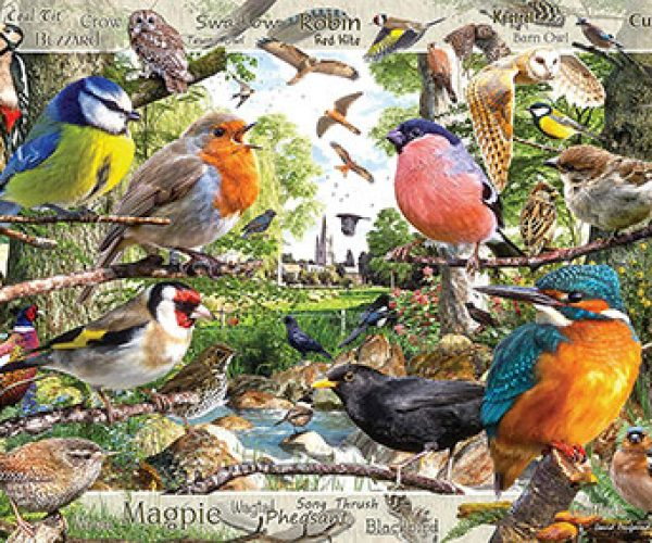 Our Feathered Friends Jigsaw Puzzle
