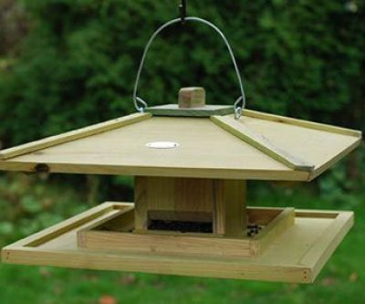 Hanging Japanese Style Bird Table