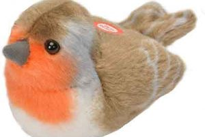 RSPB Robin Singing Soft Toy
