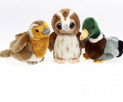 RSPB Singing Soft Toys