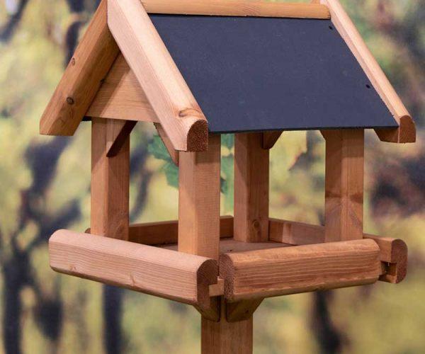 Slate Roof Bird Table