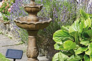 Solar Powered Bird Bath