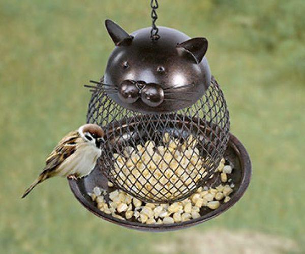 Cat Bird Feeder