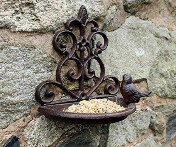 Wall-Mounted Bird Feeder